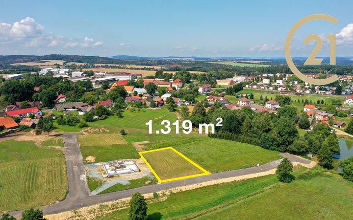 Prodej, Pozemky pro bydlení, 1319 m² - Dolní Kralovice - Vraždovy Lhotice