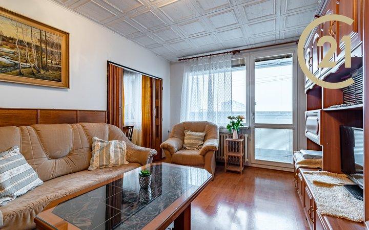 Pronájem bytu 3+1, 60m2, lodžie + extra úložný prostor, Praha 4, Krč