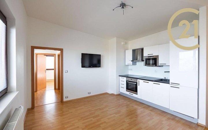 Pronájem bytu 2+kk, 49m² s terasou 7m2- Praha - Záběhlice