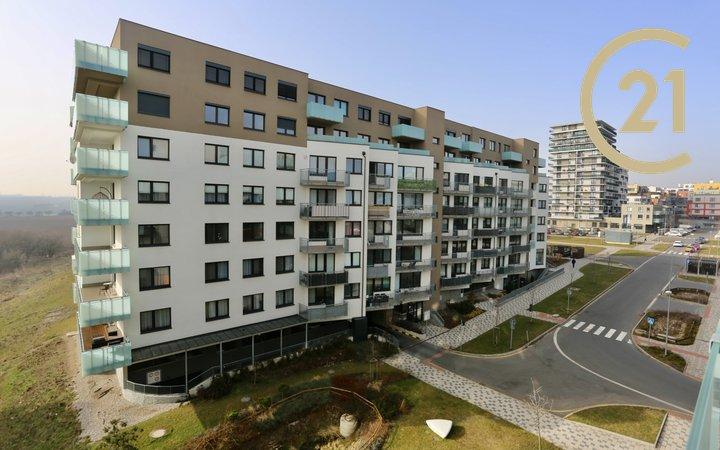 Pronájem světlého bytu 2+kk, 57 m2, Praha 5 - Stodůlky