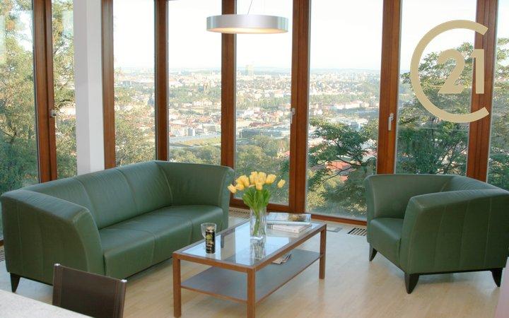 Pronájem kompletně zařízeného  bytu 2+kk, Villa Park Strahov