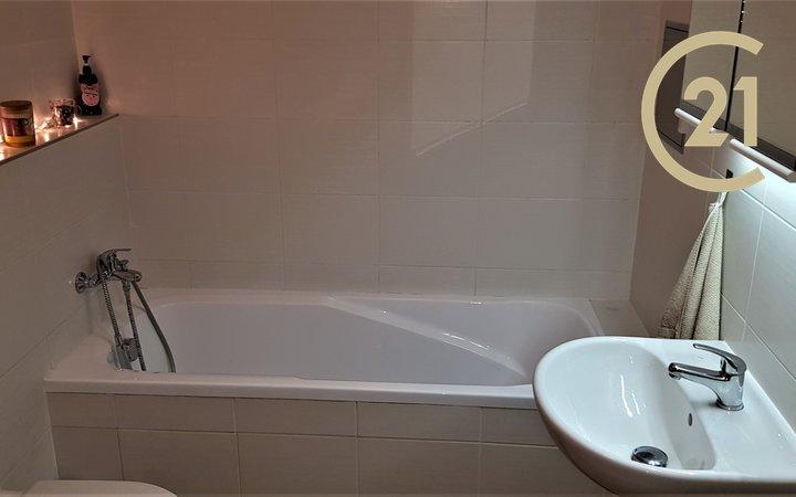 Pronájem nový byt 1+kk/B/GS, 33,5 m2+3,1 m2 Praha - Hostivař