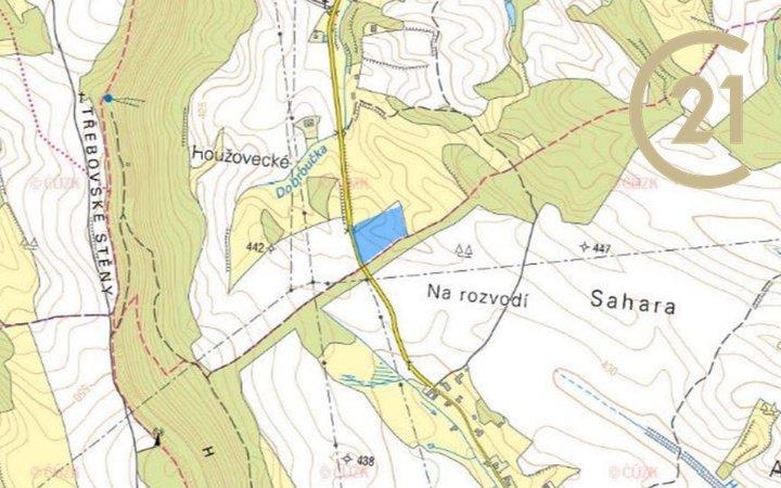 Horní Dobrouč, CP 24 780 m2, zemědělské pozemky