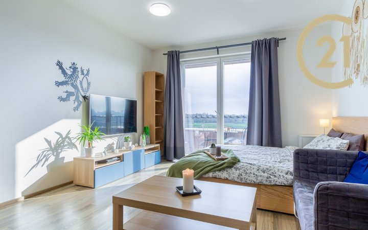 Pronájem bytu 1+kk, Praha - Letňany