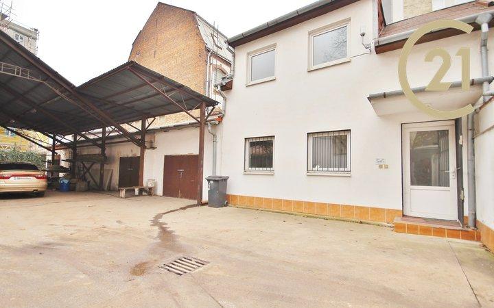 Prodej komerční nemovitosti (kanceláře, sklady, garáže), ulice Koliště, Brno - Zábrdovice.