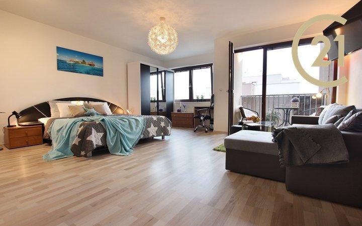 Prodej krásného bytu 1+kk, 42m² - Brno - Slatina