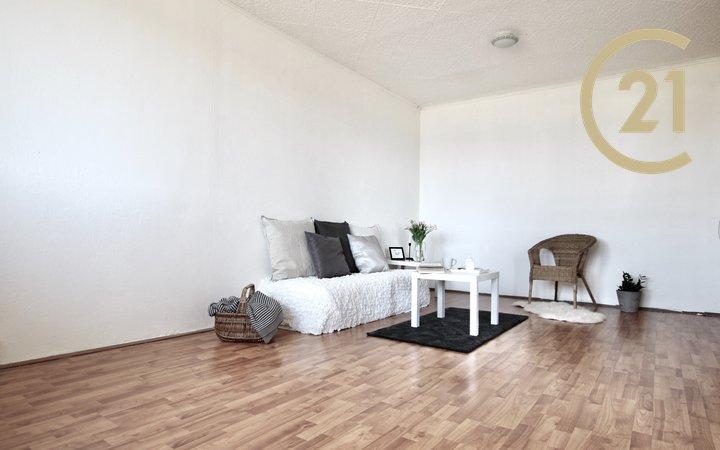 Prodej bytu 1+1 s lodžií na ulici Teyschlova v Brně-Bystrci