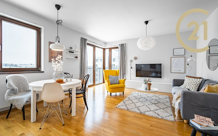 Pronájem  Byt 4+kk/L/P, 111m² - Rezidence Zelené Město 2