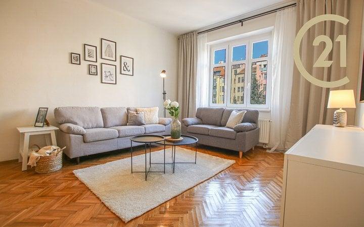 Prodej prostorného bytu v centru Brna, 85 m²
