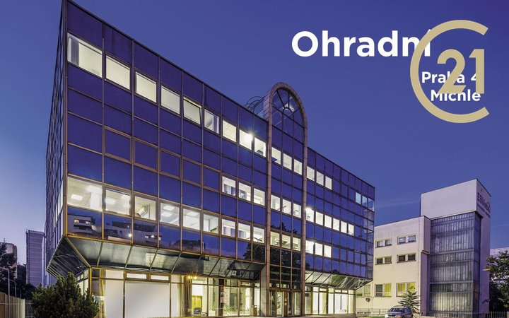Pronájem celé administrativní budovy Ohradní 1394/61, Praha - Michle