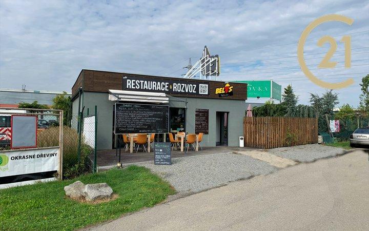 Prodej vybavené restaurace s možností přestěhování budovy