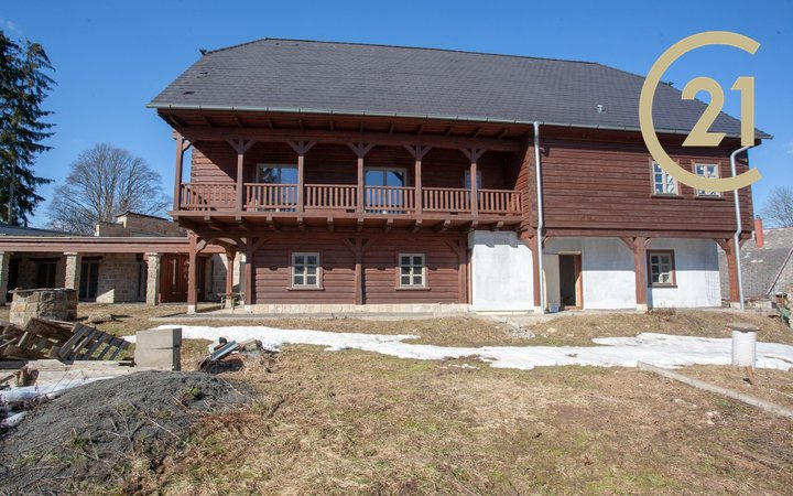 Rekreační objekt, 626 m2 s pozemkem 4012 m2, Lužické hory