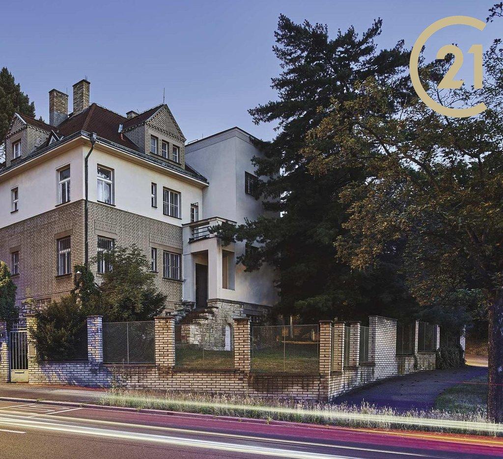 Prodej vily v rezidenční čtvrti Ořechovka, Praha -