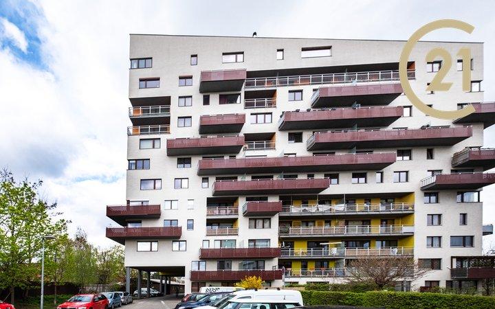 Prodej bytu 1+kk, 37,6 m² + balkon 7 m², Praha - Záběhlice