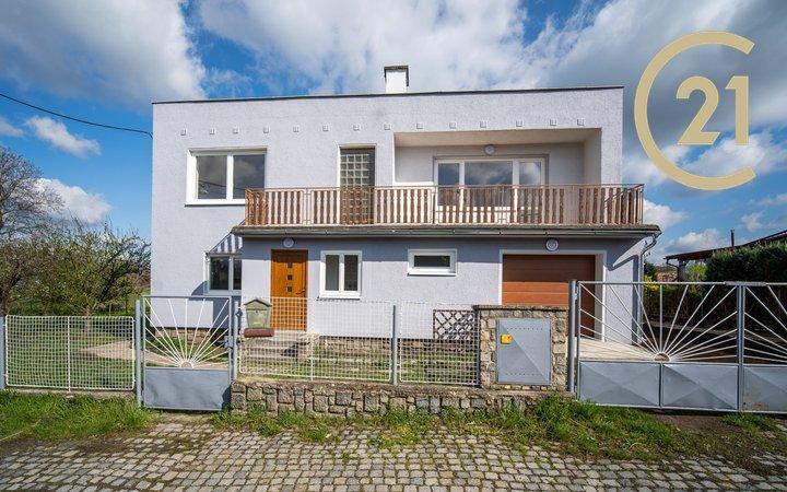 Prodej, Rodinný dům 7+1, Šternberk, Okrajová ul.