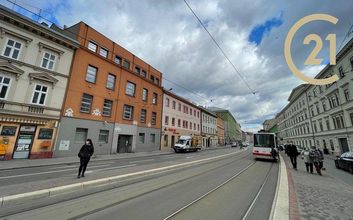 Pronájem bytu 1+kk, 24m² - Brno - Zábrdovice