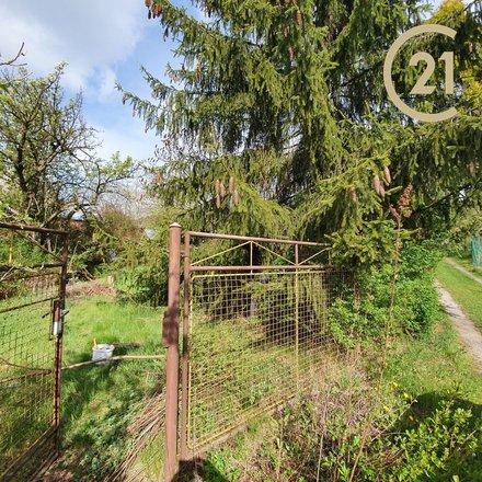 Pronájem zahrady 840 m2 s chatkou, Miloňovice