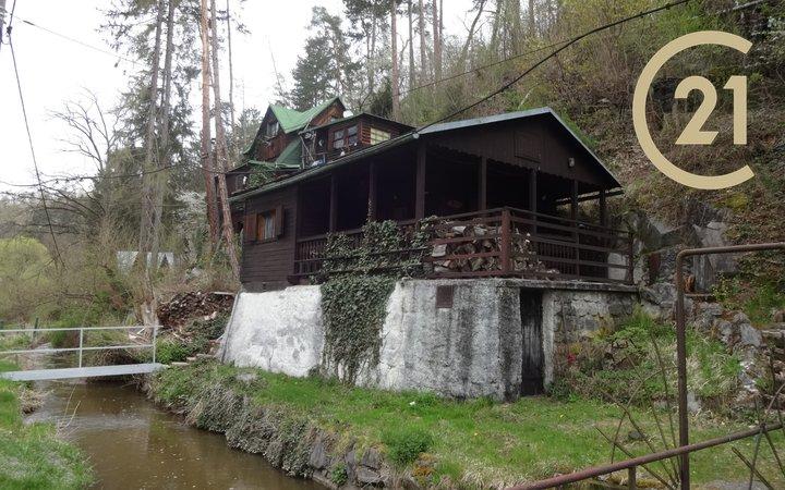 Prodej chaty 31m2 u řeky Sázavy - Kamenný Přívoz