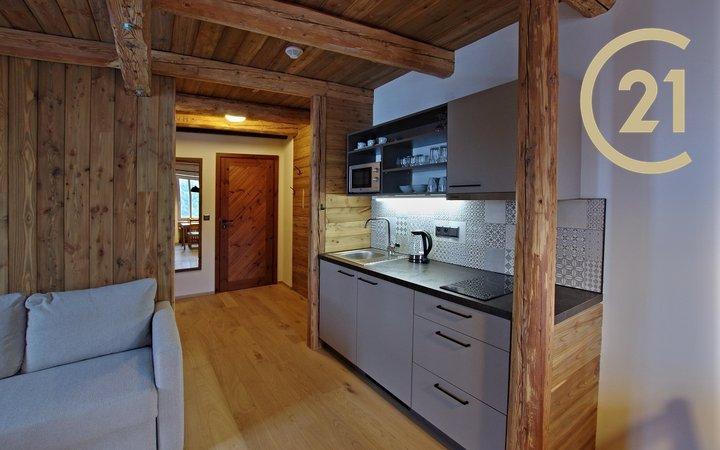 Pronájem apartmánu 1+kk, 25,5 m2 k dlouhodobému pronájmu, Bedřichov
