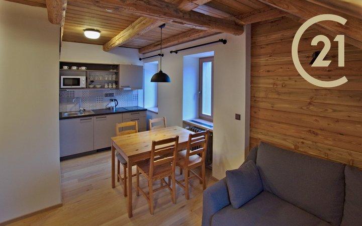 Pronájem apartmánu 2+kk, 40 m2 k dlouhodobému pronájmu, Bedřichov