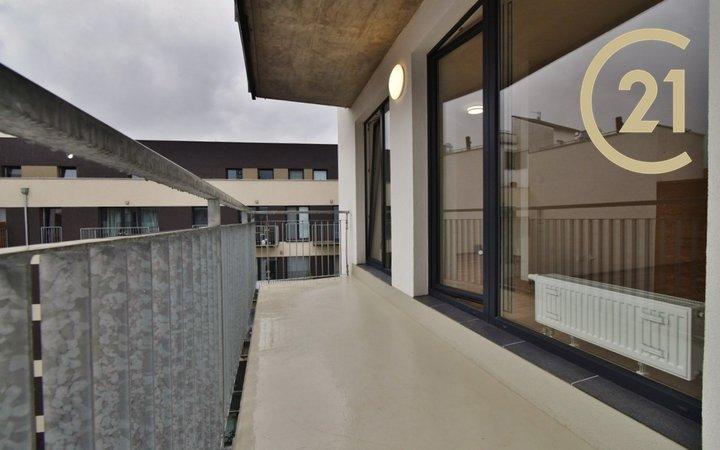 Pronájem úplně nového 2+kk 45 m² + terasa 8 m²- Brno - ul. Přádlácká 20