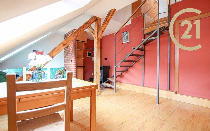 Mezonetový byt 3kk s terasou v Králově Poli