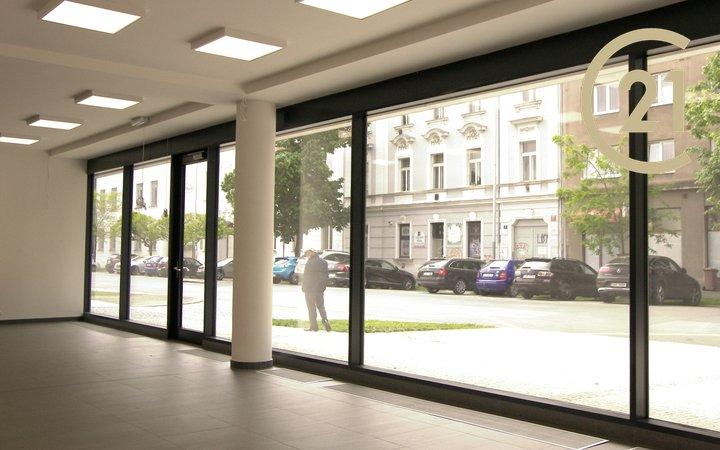 Pronájem obchodního prostory, 104 m² - Praha - Holešovice