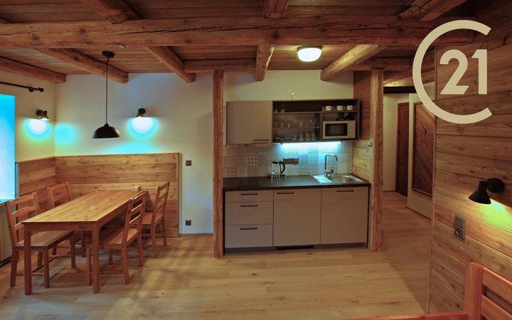 Pronájem apartmánu 1+kk, 29,6 m2 k dlouhodobému pronájmu, Bedřichov