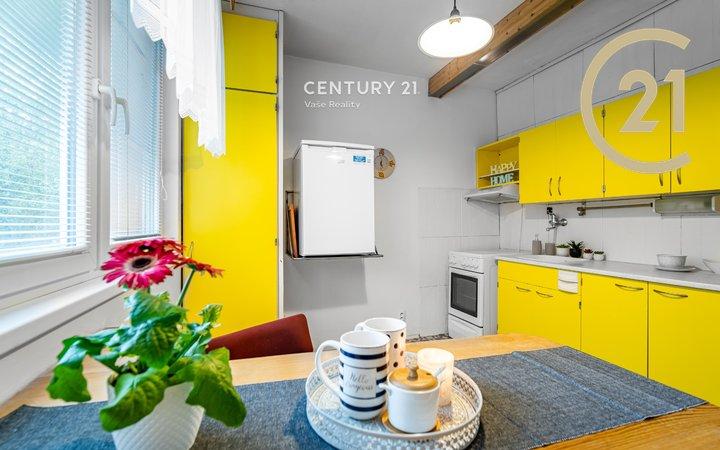 Prodej bytu 1+1 33 m² s balkonem 4,30 m² , ul. Gagarinova Znojmo