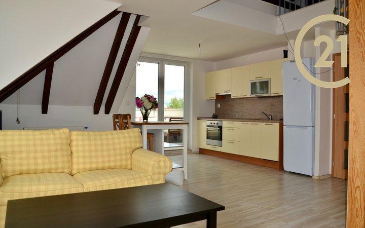 Pronájem bytu 4+kk , 100 m² + terasa 16 m²- Praha 6 - Bílá Hora