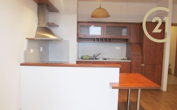 Pronájem bytu 2+kk s balkonem, novostavba, Modřany