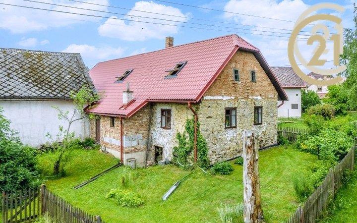 Prodej, Chalupa, 2+1, 70m² - Chotěboř - Střížov