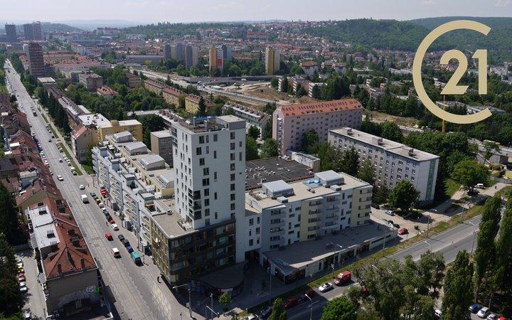 prodej byt 1+kk Purkyňova 3030/35c, Brno - Královo Pole EDEN