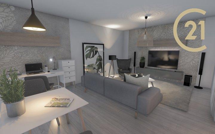 Prodej bytu 2+kk, 57,60m2,  Valašské Meziříčí, ul.Křižná.