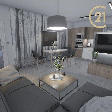Prodej bytu 2+kk, 49m2,  Valašské Meziříčí, ul.Křižná.