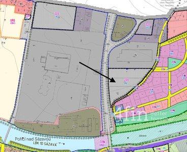 Prodej pozemku pro komerční výstavbu, 7 273 m², Poříčí nad Sázavou