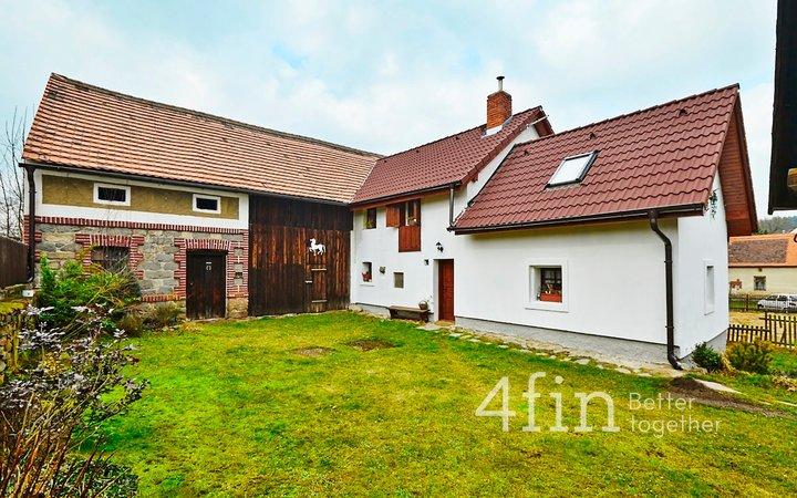 Prodej chalupy/rodinného domu v  Záborné Lhotě - Chotilsko