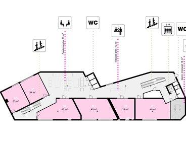 Pronájem obchodních prostor, 460m² - Třinec - Staré Město