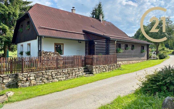 Pošumaví - Prodej chalupy 167 m², pozemek 1106 m² -  Radhostice - obec Libotyně,