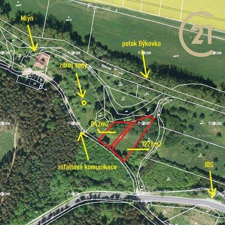 Prodej, Pozemky - zahrady, 1228m² - Žernovník