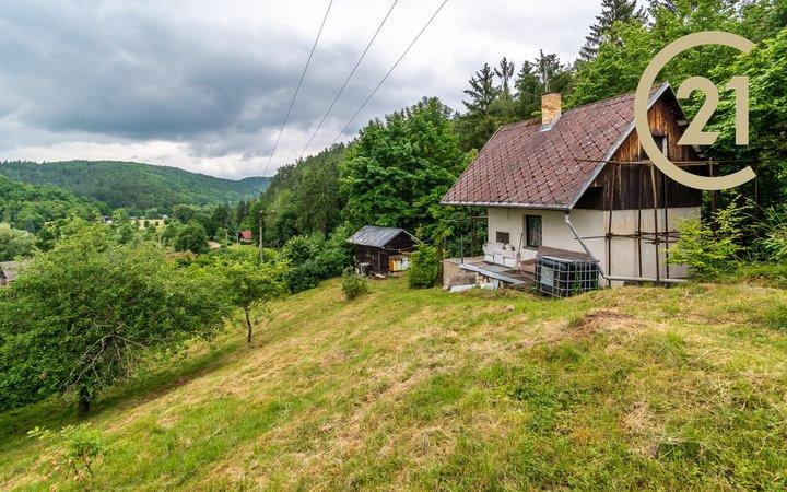 Prodej, Chata, 50m² - Zvíkovec