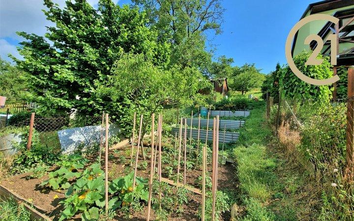 Zahrada Libušino údolí, Brno, CP 548 m2, vhodný i pro individuální rekreaci