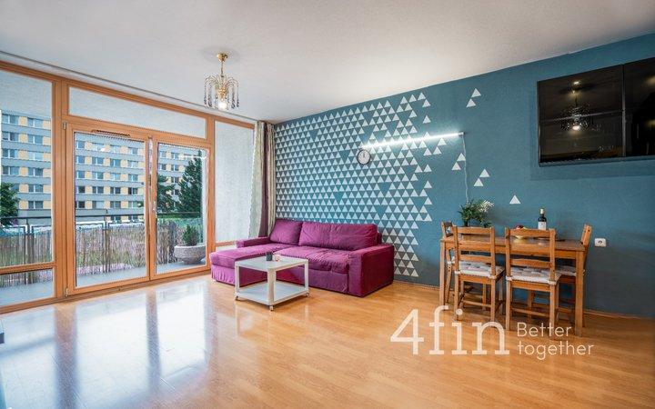 Pronájem bytu 3+kk s lodžií a sklepem, 71 m², Praha - Krč