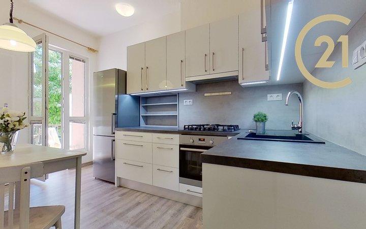 Pronájem bytu 2+1, 59 m² - Brno - Veveří