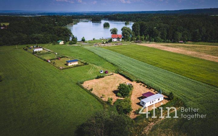 Prodej pozemku 1277 m2 s mobilním domem, okr. Kutná Hora