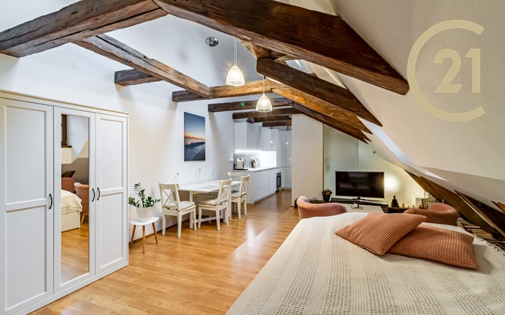 Pronájem bytu 1+kk, 63 m2