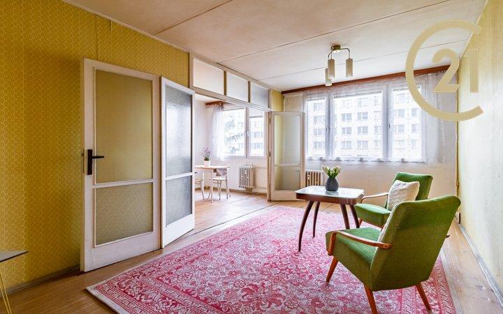 Útulný byt s dispozicí 3+1, 67,7 m2, komora, Praha 10 - Záběhlice