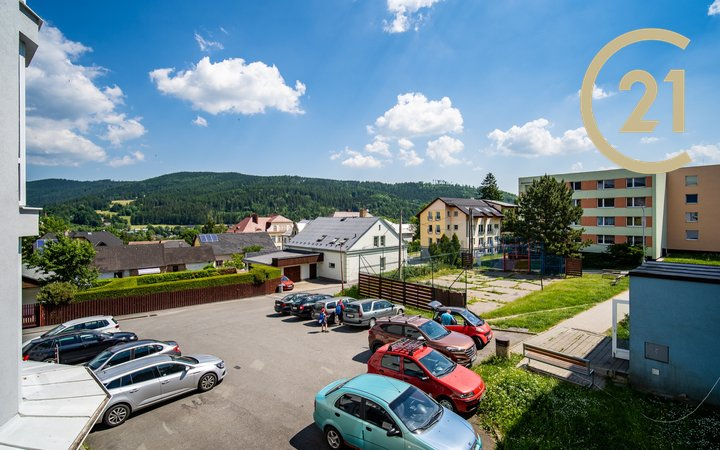 Prodej, byt 1+1, 39 m² , Vrbno pod Pradědem, Palackého ul.
