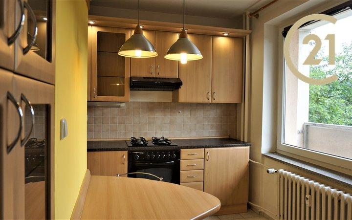 Pronájem pěkného, celkově vybaveného bytu 1+1 s lodžií, Blansko