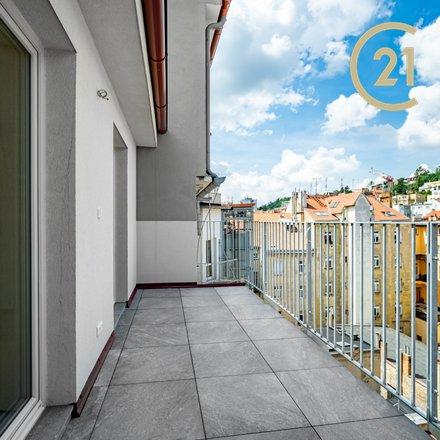 Dražby, Atypické byty, 119m² - Praha 5, terasa 11,1 m², sklepní kóje 3,86 m²
